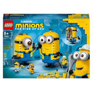 LEGO Minions: Brick-Built Minions: & Their Lair Set (75551)