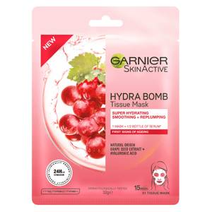Garnier SkinActive Hydra Bomb Anti-Ageing Tissue Mask - Grape Seed Extract (1 Mask)