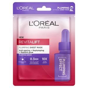 L'Oréal Paris Revitalift Plumping Sheet Masks (Pack of 5)