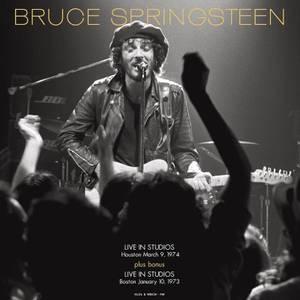 Bruce Springsteen - FM Studios Live In Houston Sept 3rd 1974 & In Boston Oct 1st 1973 (Red Vinyl)