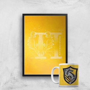 Harry Potter Hufflepuff Mug & A4 Print