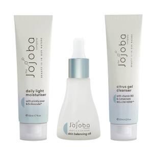 The Jojoba Company Oily Skin Set
