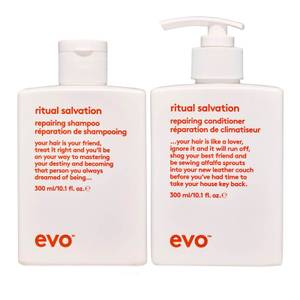 evo Ritual Salvation Repairing Shampoo and Conditioner