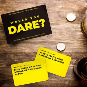 Would You Dare? Challenge Cards