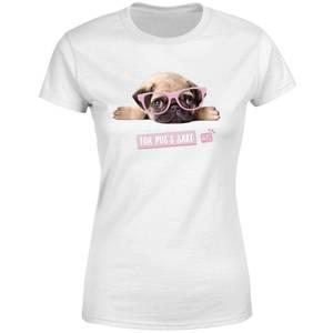 Studio Pets For Pug's Sake Women's T-Shirt - White