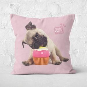 Studio Pets Snuggle Cupcake Square Cushion