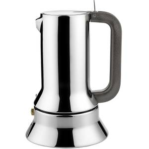 Alessi Espresso Coffee Maker - Induction - Silver