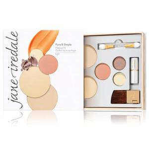 jane iredale Pure and Simple Makeup Kit (Various Shades)
