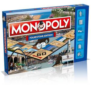 Monopoly Board Game - Folkestone Edition
