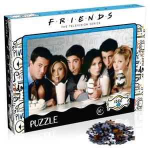 1000 Teile Puzzle - Friends Milkshake-Ausgabe
