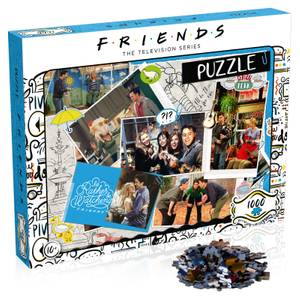1000 Piece Jigsaw Puzzle - Friends Scrapbook Edition