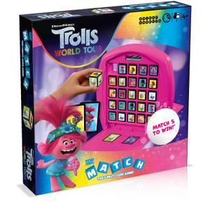 Top Trumps Match Board Game - Trolls 2 Edition