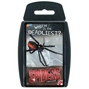 Top Trumps Card Game - Spiders Edition