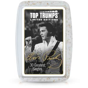Top Trumps Premium Card Game - Elvis Presley Edition