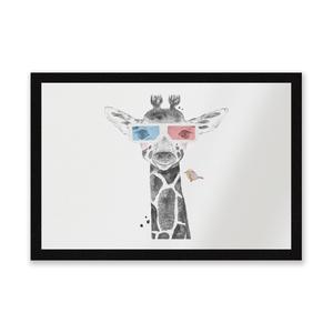 3D Giraffe Entrance Mat