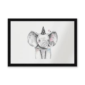 Party Elephant Entrance Mat