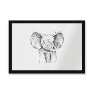 Cute Elephant Entrance Mat