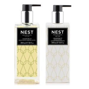 NEST Fragrances Grapefruit Liquid Hand Soap and Lotion Bundle