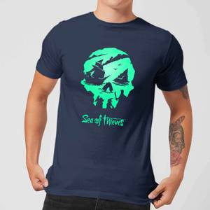 Sea Of Thieves 2nd Anniversary Logo Men's T-Shirt - Navy
