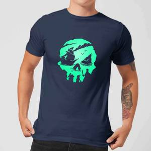 Sea Of Thieves 2nd Anniversary Skull Men's T-Shirt - Navy