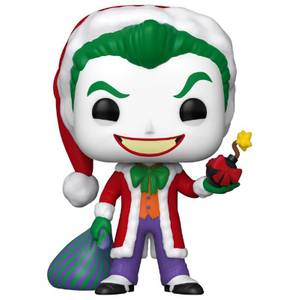 DC Comics Holiday Santa Joker Funko Pop! Vinyl