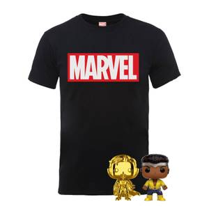 The Marvel Pop! & T-Shirt Bundle Men's T-Shirt - Black