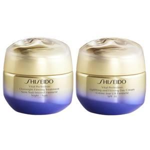 Shiseido Vital Perfection Day Cream to Night Bundle