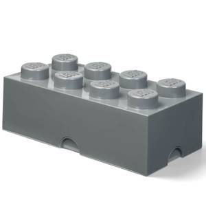 LEGO Storage Brick 8 - Dark Grey