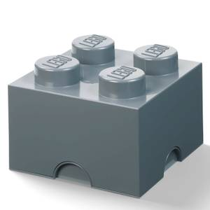 LEGO Storage Brick 4 - Dark Grey