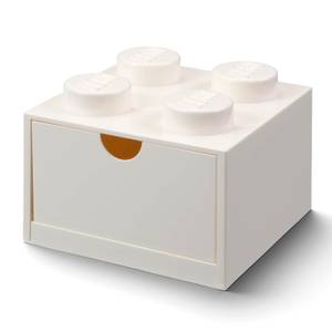 LEGO Storage Desk Drawer 4 - White