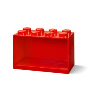 LEGO Storage Brick Shelf 8 - Red