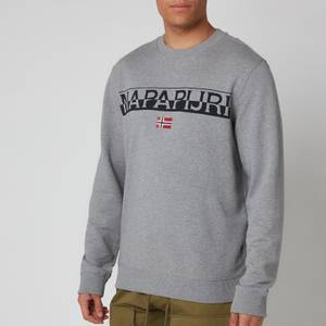 Napapijri Men's Baras C Sweatshirt - Medium Grey Melange