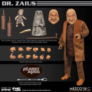 Mezco One:12 Collective Planet of the Apes (1968) Dr. Zaius Action Figure