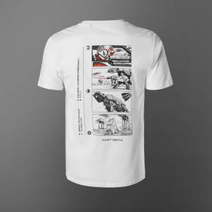 T-shirt Star Wars Attack On Echo Base - Blanc - Unisexe