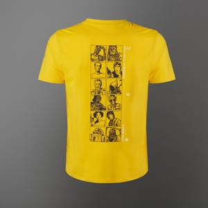 Star Wars A New Hope Lineup Unisex T-Shirt - Yellow