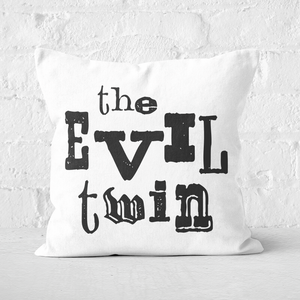 The Evil Twin Square Cushion