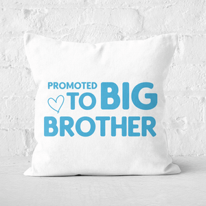 Promoted To Big Brother Square Cushion