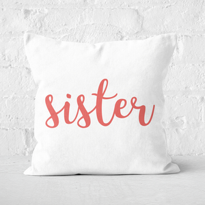 Sister Square Cushion