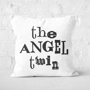 The Angel Twin Square Cushion