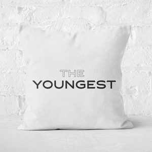 The Youngest Square Cushion