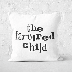 The Favoured Child Square Cushion