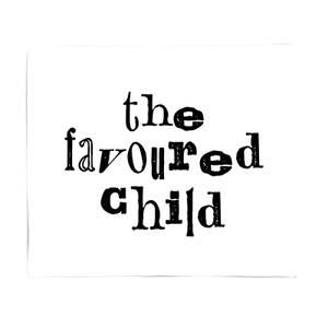 The Favoured Child Fleece Blanket
