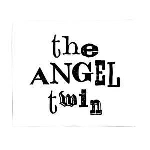 The Angel Twin Fleece Blanket