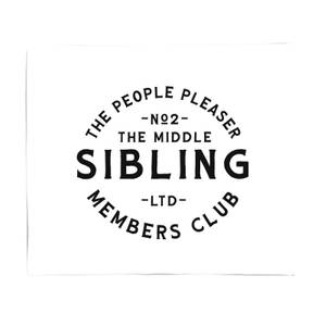 The Middle Sibling The People Pleaser Fleece Blanket