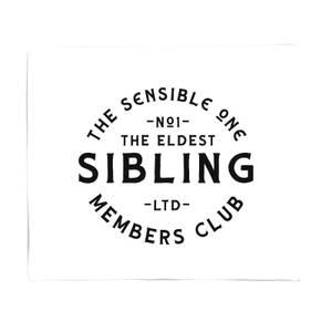 The Eldest Sibling The Sensible One Fleece Blanket