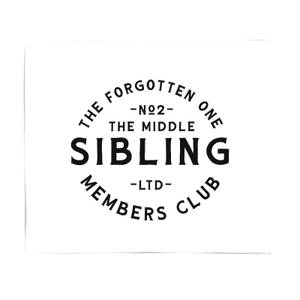 The Middle Child The Forgotten One Fleece Blanket