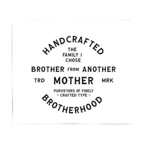 Brother From Another Mother Fleece Blanket