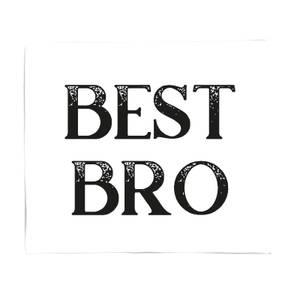 Best Bro Fleece Blanket