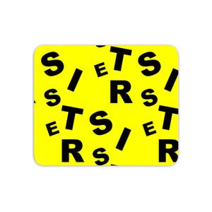 Sister Pattern Mouse Mat