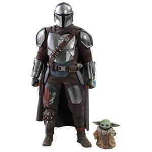 Hot Toys Star Wars The Mandalorian Action Figure 2-Pack 1/6 The Mandalorian & The Child 30 cm